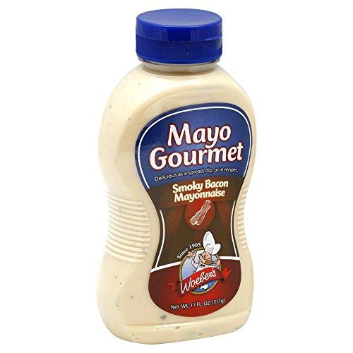 - Woeber's Mayo Gourmet Mayonnaise Smoky Bacon -- 11 fl oz