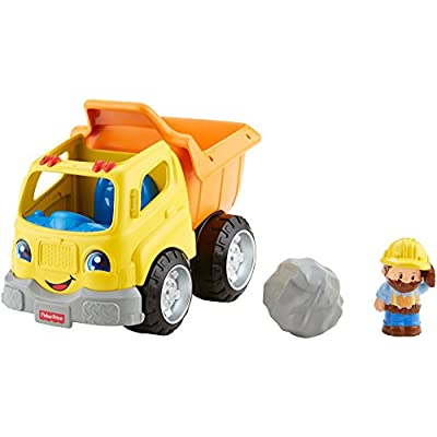 Fisher-Price Little People Dump Truck: Toys & Games