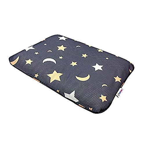 Agibaby Toddler Hypoallergenic 3D Air Mesh Cool Pillow 13x18 (Shiny Star)