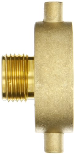 1.5 ID 100/' Length 1.5 ID Coupled with Rocker Lug Expansion Rings 100 Length Brass NPSH 125 psi Maximum Pressure United Pacific Distributors HFID153CPHB Mill Hose Double Jacket