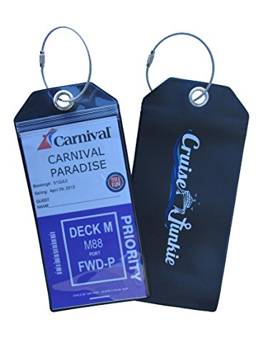 cruise-junkie-luggage-tag-4-pk-zip-seal-etag-holder-w-steel-ring