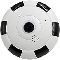 WY 360 Degree Mini Wireless Wifi 2.4GHZ 960P HD Camera Panoramic View HD Video Monitoring Surveillance Camera with Night Vision Two Way Audio Baby Monitor