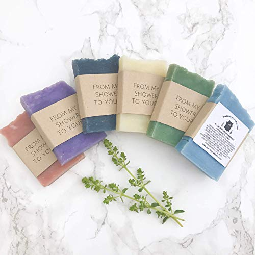 Vegan Mini Soap Favors for baby or bridal shower Party Giveaways 12pack ()