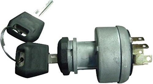 D134737 Ignition Switch with 2 Keys for Case - IH Tractor Dozer Backhoe + ()