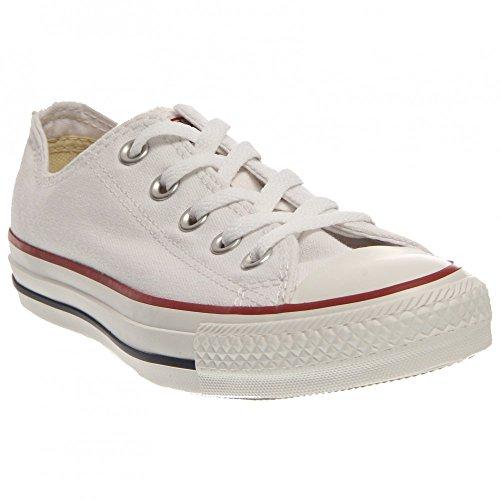Converse Chuck Taylor All Star - Zapatillas de tela, unisex Optical White