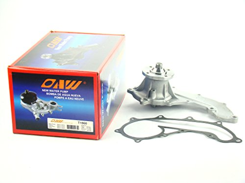 OAW T1960 Engine Water Pump for 95-15 Toyota Tacoma, 94-98 T100 & 96-00 4Runner 2.7L