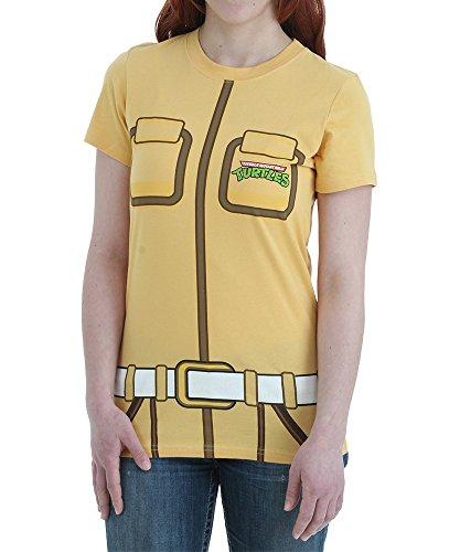 Womens TMNT I Am April O' Neil T-Shirt (Female Teenage Mutant Ninja Turtles)