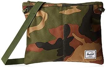 Herschel Alder Unisex Cross body Bag, Woodland Camo