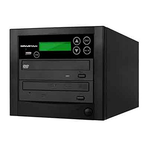Spartan Duo Duplicator USB Flash Memory to 1 Disc Duplicator / Media Converter with Select Source Key Button D901-SSP (Media Key Flash Usb)