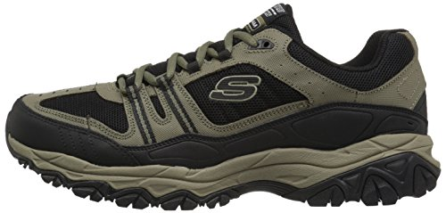 SKECHERS Hombres Afterburn M. Fit Strike Off Pebble