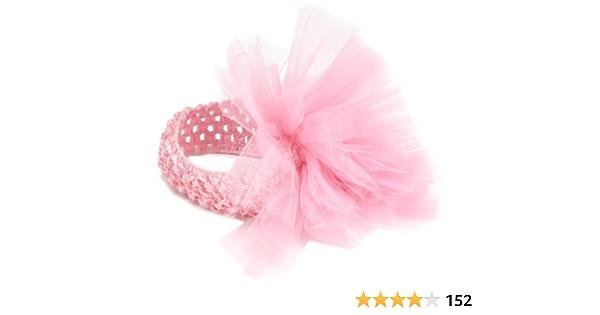 Tulle Hairbow Birthday Bow Headband,Baby Headband Hair Accessory,Bows Tulle Headband Hair accessories Toddler Headband Girl Headband
