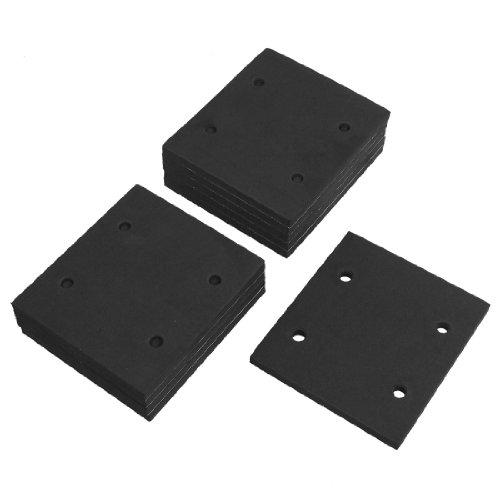uxcell 10 Pcs Self Adhesive Foam Part Sander Back Pad Sanding Mat for Makita 4510