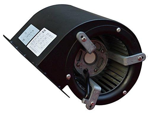 Hakka EM133C-4 Centrifugal Blower, 500 Cubic Feet Per Minute, 3300 RPM, 110V, 60Hz, 1.5 amps