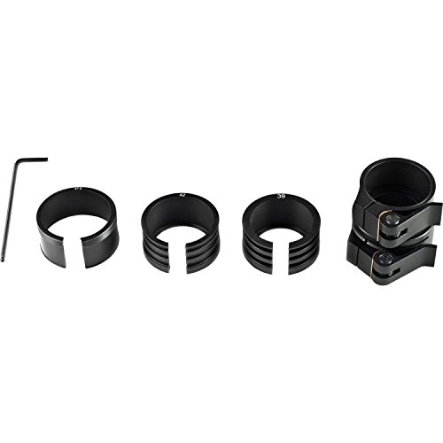 Bering Optics BE80401 Clip on Adaptor with Fitting Rings for Night Probe, Black (Airsoft Gun Clip On Scopes)