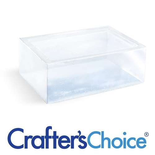 Crafter's Choice2 pack of 2LB Premium Extra Clear Melt and Pour Soap Base