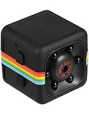 كاميرا ميني كيوب 1080 بكسل عالية الدقة رؤية ليلية بالأشعة تحت الحمراء بزاوية واسعة 120 درجة وذاكرة ممتدة 32 جيجابايت LMZMAINSTAYAED7413BSA