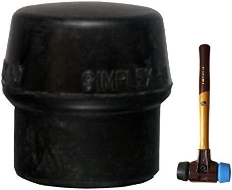 Simplex Schonhammer-Einsatz Ø 60 mm Gummikomposition/Schwarz