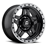 fuel anza wheels - Fuel Offroad D557 Anza 17x8.5 5x127 -6mm Black Wheel Rim