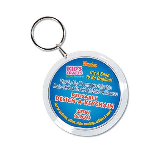 Darice 6 Piece Design Keychain Value