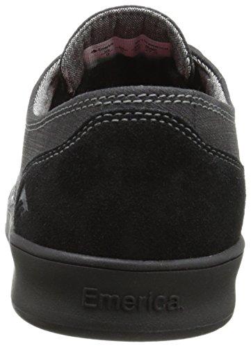 Emerica Baskets À Lacets The Romero - BLACK BLACK GUM - 40