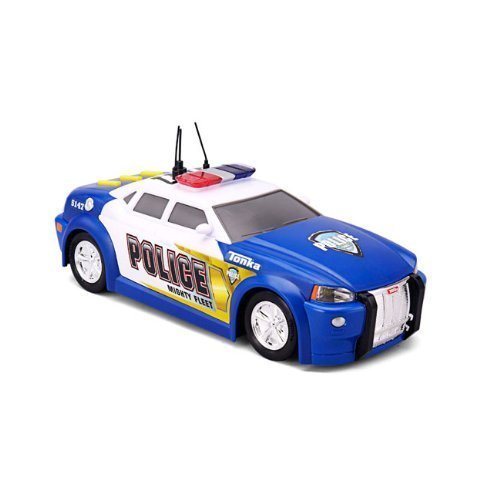 (Tonka Lights and Sound Mighty Fleet Police Car (Colors May Vary))