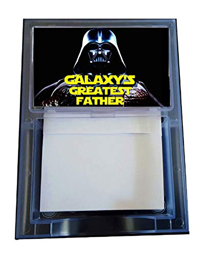 Star Wars Darth Vader Worlds Galaxys Greatest Father Dad Note Pad Memo ()