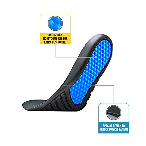 Work Boot Insoles for Men Work Boots Shoes - Shock Absorbing Inserts for Long Walking Standing Men Women
