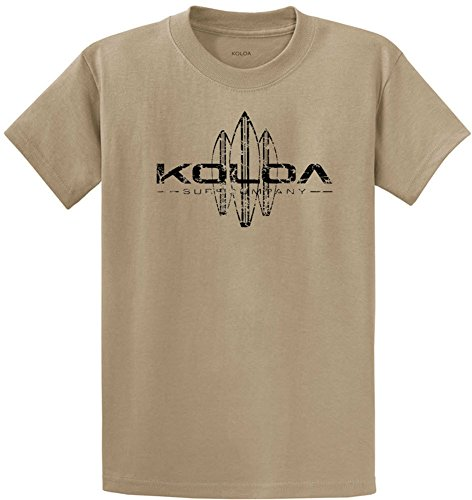Koloa Vintage Surfboard Logo T-Shirts in Regular, Big and Tall Sizes