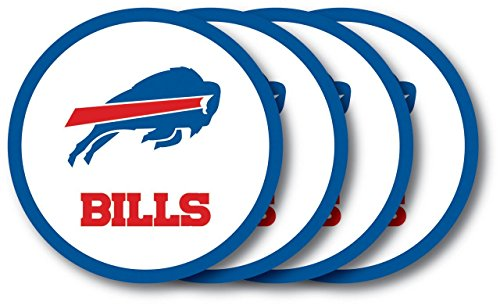 - Buffalo Bills Coaster 4 Pack Set