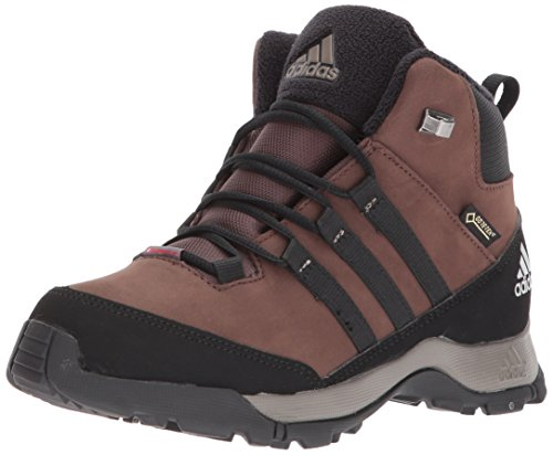 adidas Outdoor Unisex-Kids CW Winter Hiker Mid Gtx K Hiking Shoe, Brown/Black/Simple Brown, 4.5 Child US Big Kid by adidas outdoor