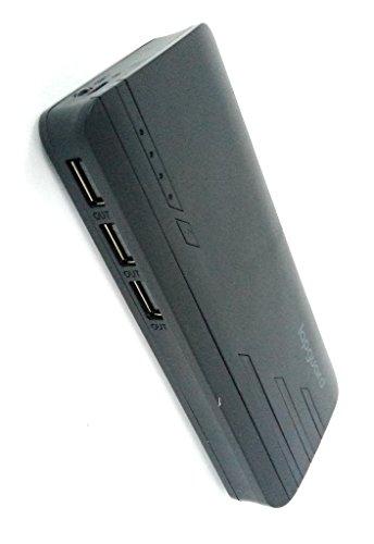 Lapguard Sailing-1530 Power Bank 13000 mAh Make In India portable Charger powerbank -Black