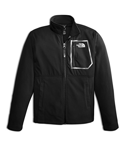 The North Face Kids Boy's Glacier Track Jacket (Little Kids/Big Kids) TNF Black/TNF White Small (Youth North Face Ski Jacket)