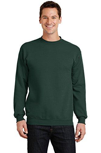 Port & Company Men's Classic Crewneck Sweatshirt XXL Dark Green