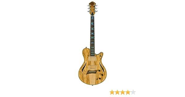 Michael Kelly mkhyss híbrido especial semi-hollow-body guitarra ...