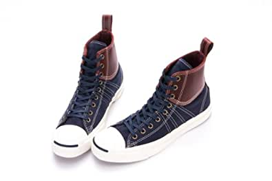 Converse Chuck Taylor All Star Jack Purcell Duck MID NVY 1133U173182 (139771C) (M US9 / W US10.5 / UK8 / EUR42.5 / 27CM;)