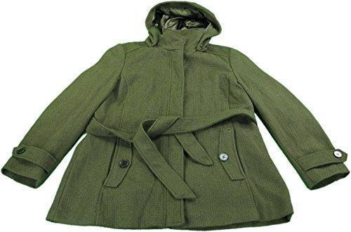 Wool Belt Tie Coat Jacket - 8