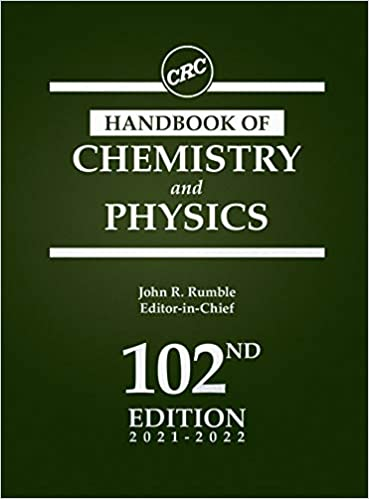 Image of the CRC Handbook of Chemistry and Physics cover