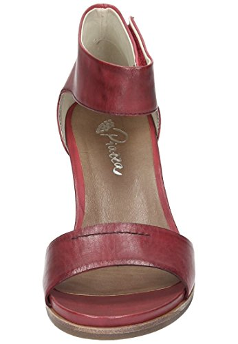 Bordeaux Pumps 41 Leder Rot 910654 Piazza Damen 7q6P00