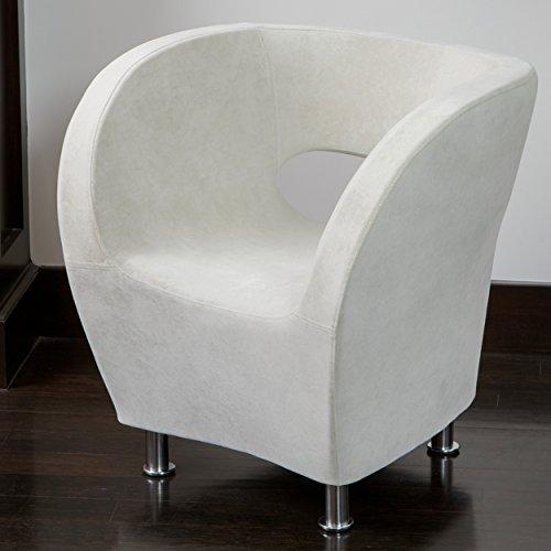 Salazar Modern Design Accent Club Chair - Microfiber Accent Club Chair