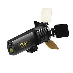 Ikan iLED-MS Micro Spot On-Camera Light (Black)