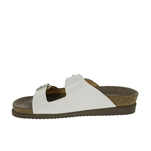 Mephisto - Sandalias de vestir de Piel para mujer blanco blanco blanco