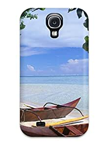 Tpu Shockproof/dirt-proof Hana Iti Beach Cover Case For Galaxy(s4) Sending Screen Protector in Free