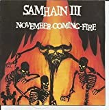 November/Coming Fire by Samhain (1989-11-14)