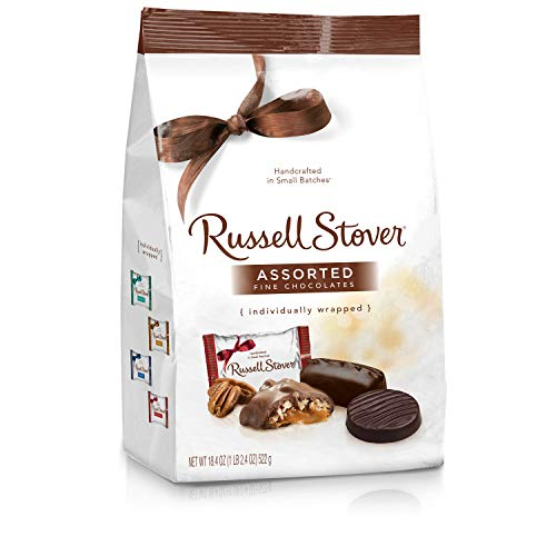 - Russell Stover Assorted Chocolates Gusset Bag, 18.4 Ounce Bag