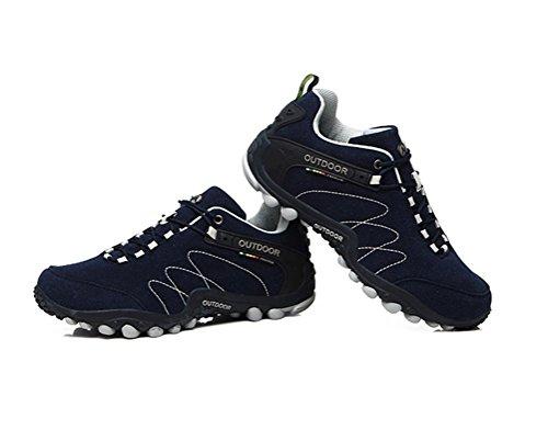 Immer schöne Frauen / Männer Walking Trail Schuhe Casual Laufschuhe Turnschuhe Dunkelblau
