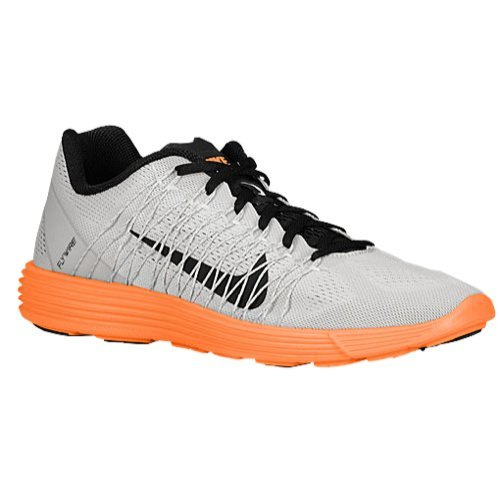 6bb6b7c9f7fc Nike Lunaracer+ 3 Men Sneaker LT Base Grey Atomic Orange Black 554675-008