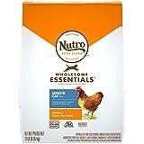 Nutro Wholesome Essentials Natural Dry Cat Food, Senior Cat Chicken & Brown Rice Recipe, 14 lb. Bag