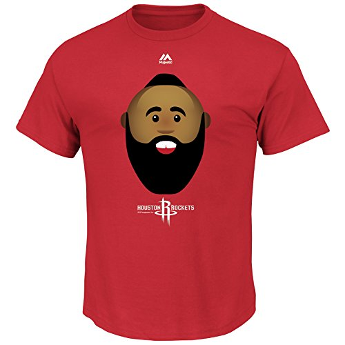'Majestic NBA Players Youth Emoji T-Shirt (James Harden, Youth Small - Harden Fashion James