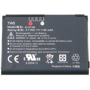 Htc Touch (CDMA) XV6900 TOUCH (GSM HTC P3450) Cruise ELF0160 OEM Li-Ion Cell Phone Battery (1100 (Htc Touch)