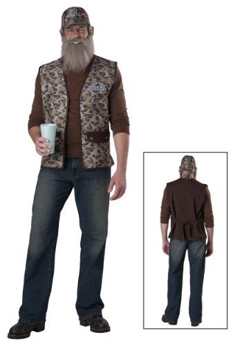Duck Dynasty Uncle Si Adult Costume, OneSize ()